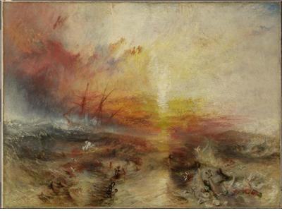 노예선 (The Slave Ship) (1840, William Turner